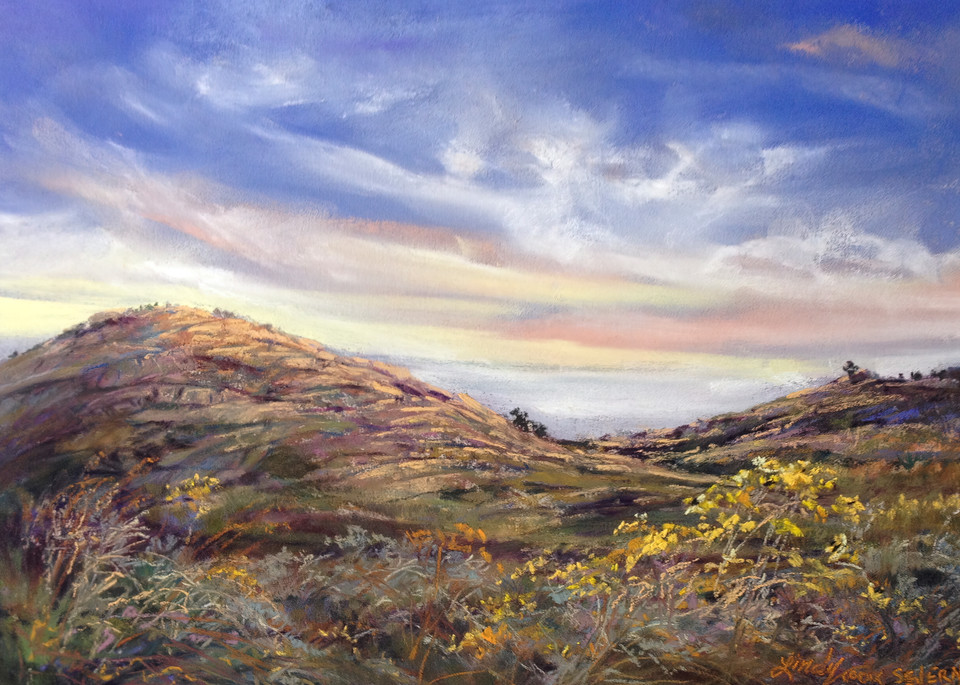 Lindy Cook Severns Art   Kissed by Sunrise, print