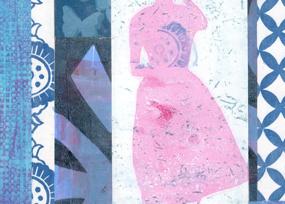 Woman: An art print by Jennifer Akkermans