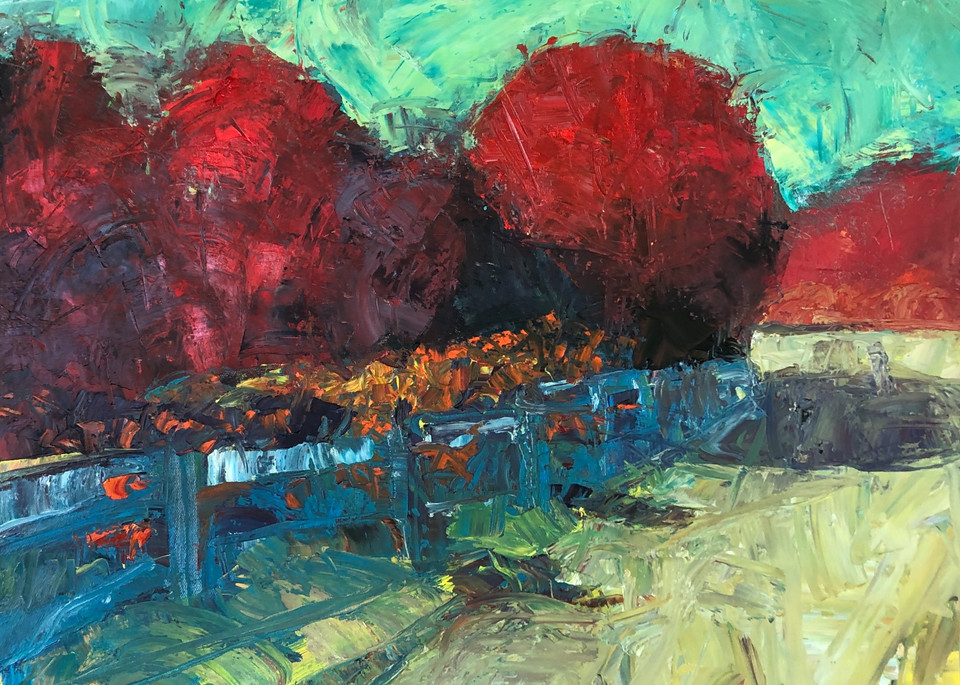 Driveway In Summer Art | michaelwilson