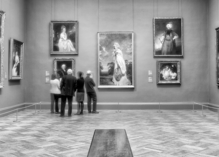 Museumgoers  Photography Art   Alina Marin-Bliach Photography/alinabstudios LLC