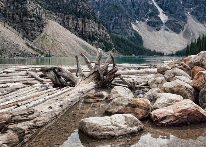 Lake Moraine  Photography Art   Alina Marin-Bliach Photography/alinabstudios LLC