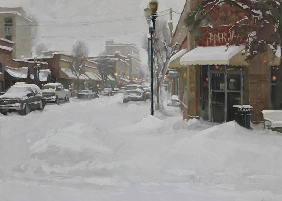Blanket Of Snow Art   Diehl Fine Art