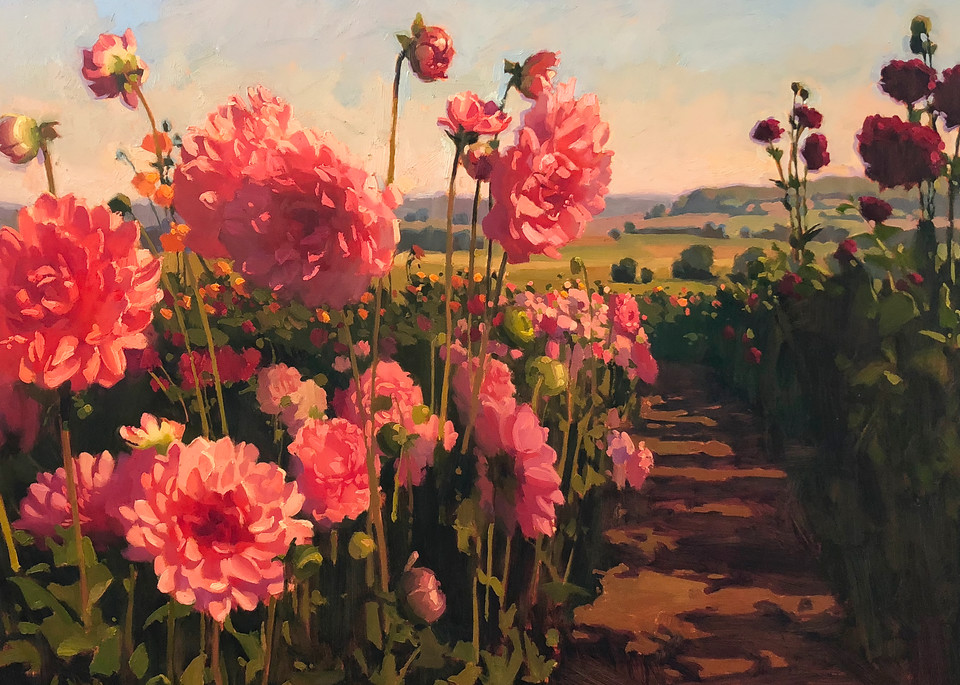 Flower Aisle Art | Diehl Fine Art