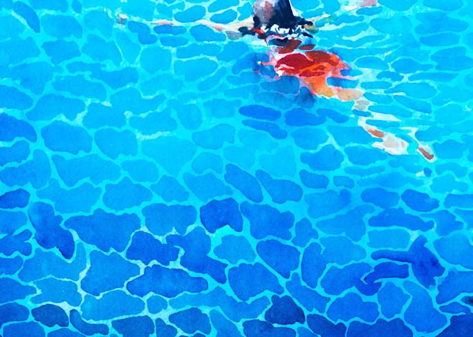 Swimmer #1 Art | Steven Dragan Fine Art