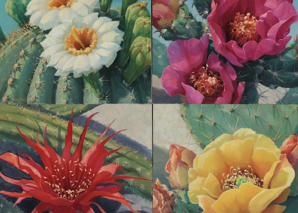 Cactus Flowers 7 Art | Diehl Fine Art