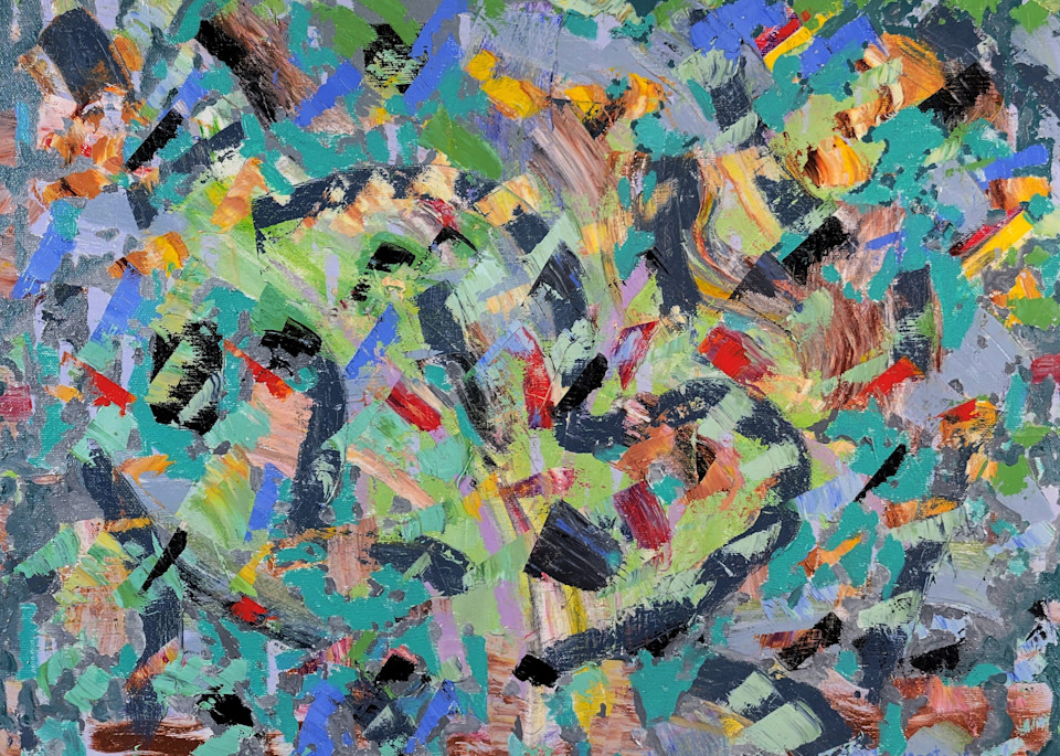 Tossed Abstract with Cranberries - Prints