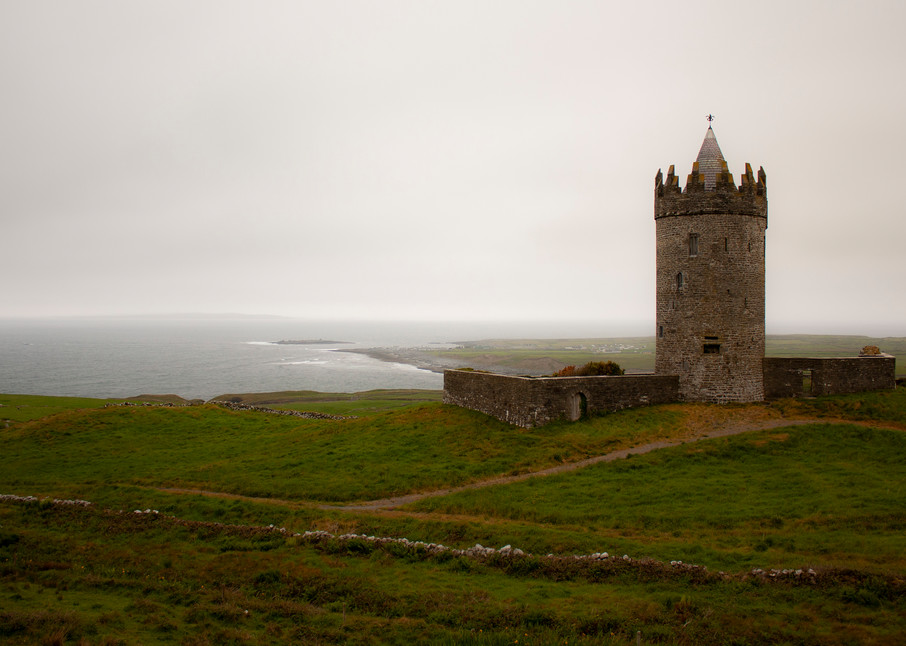 Doonagore Castle, Ireland Photography Art   E. Morton Studios
