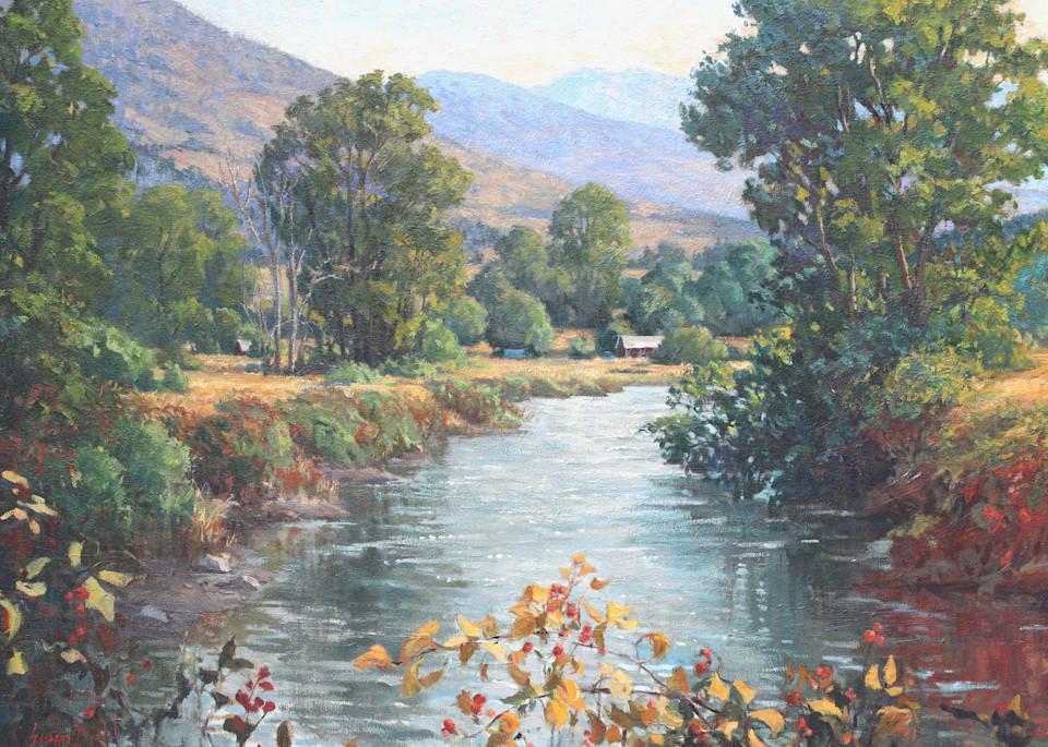 River Bend Art   Diehl Fine Art