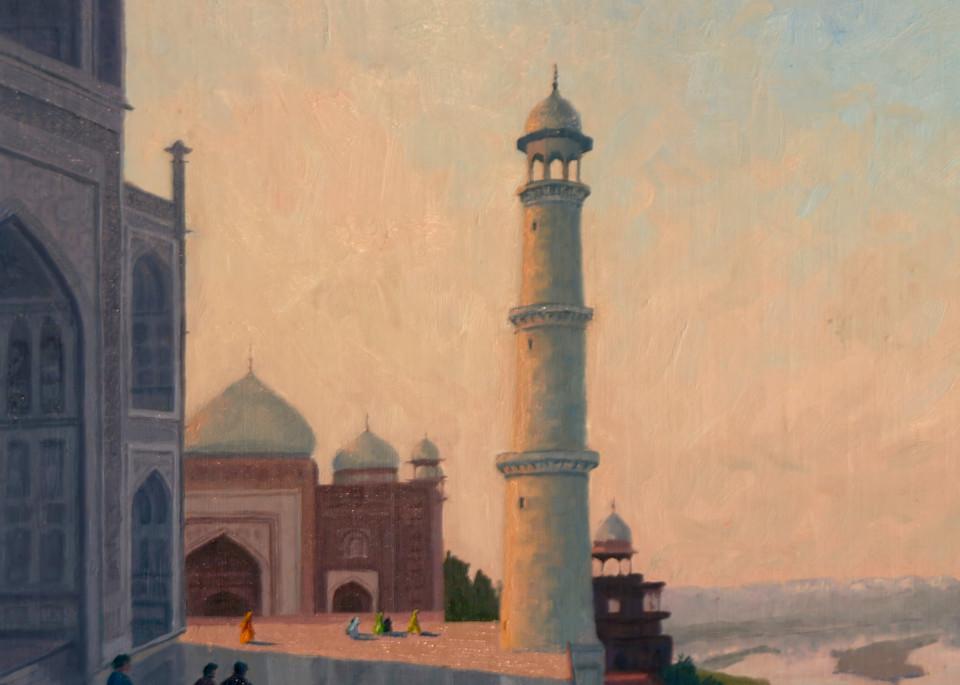 In The Shadow Of The Taj Art | Diehl Fine Art