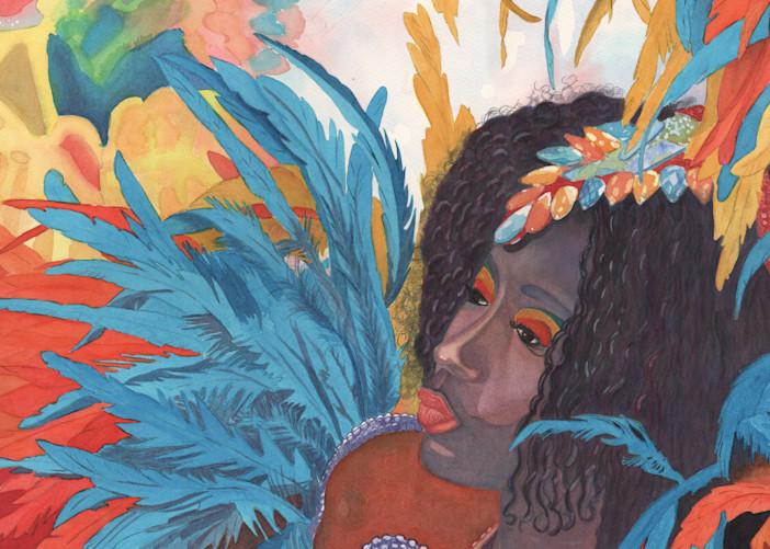 12. Princess Tanisha   Crucian Carnival Xii Art   Michele Tabor Kimbrough