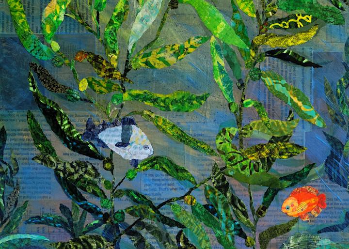 The Enchanted Kelp Forest Art   Poppyfish Studio