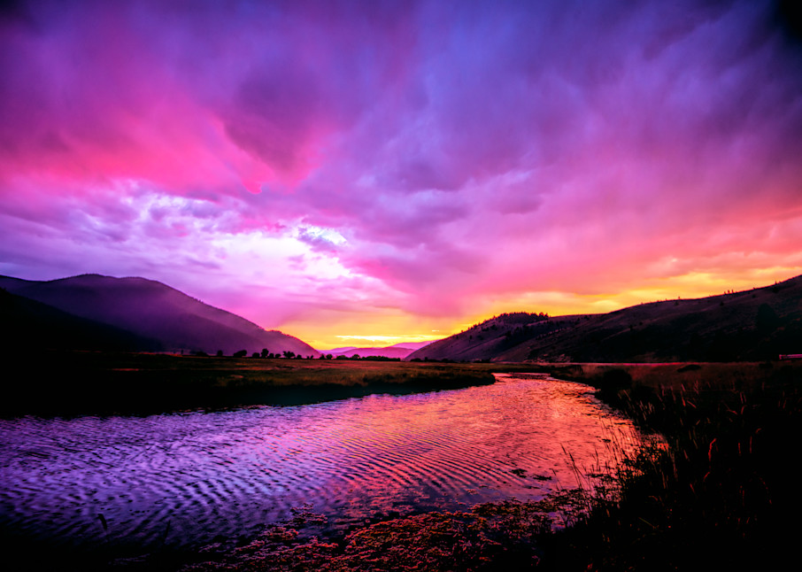 Big Hole River Photography Art | Monty Orr Photography