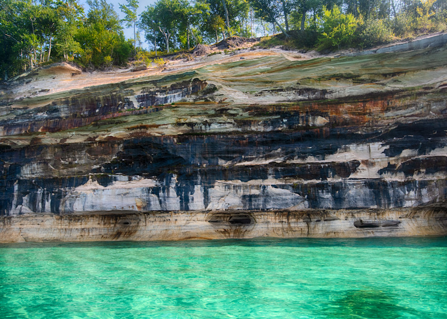 Mural of Pictured Rocks