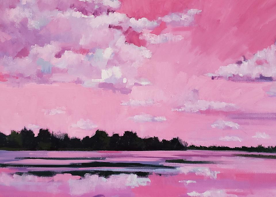 Heinz Sunset  Art   Jenn Hallgren Artist