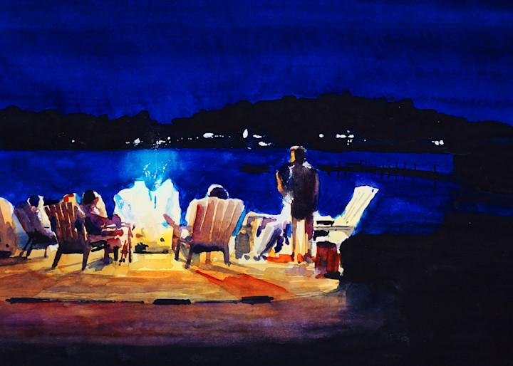 Bonfire 1 Art | Steven Dragan Fine Art