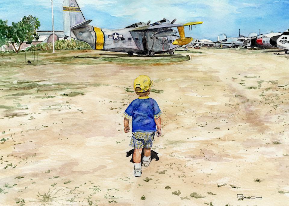 Aspiring Pilot Art | Artwork by Rouch