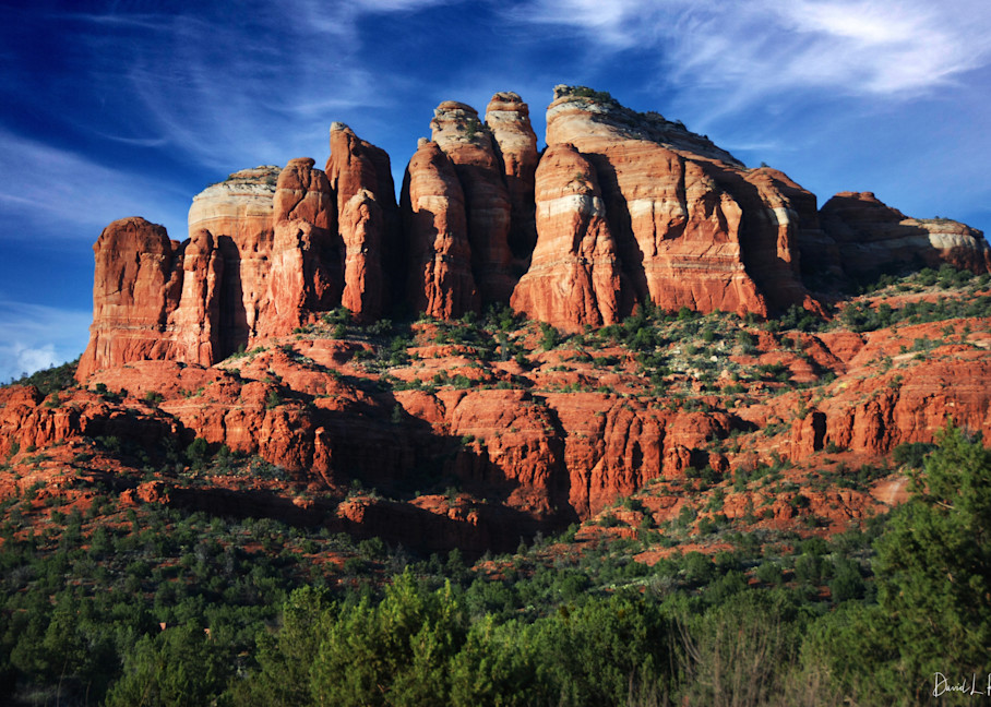 USA, Arizona, Sedona, Cathedral Rock from the South