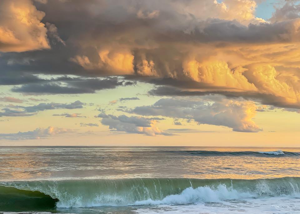South Beach Late Summer Storm Clouds Art | Michael Blanchard Inspirational Photography - Crossroads Gallery