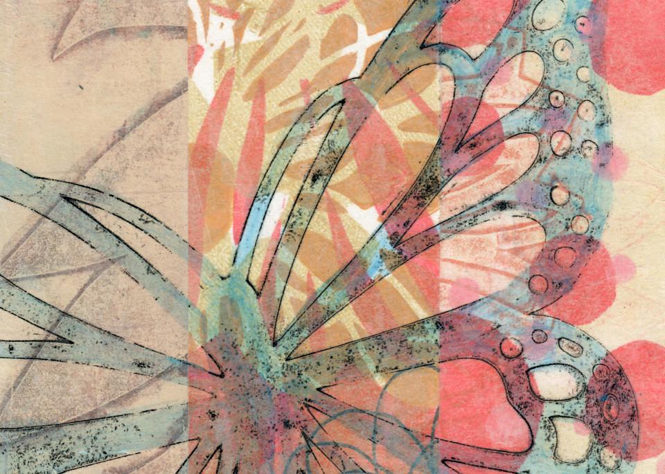 Flutter By: Mixed media artwork by Jennifer Akkermans