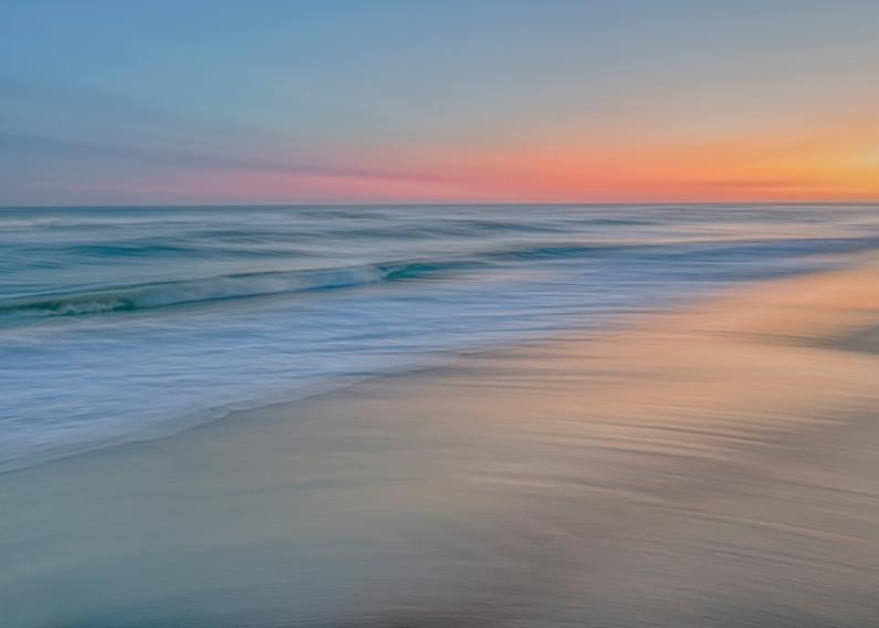 South Beach Late Summer Soft Sunset Art | Michael Blanchard Inspirational Photography - Crossroads Gallery