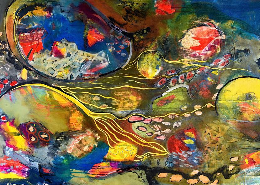 Chasing The Sun Art   Judith Visker Art
