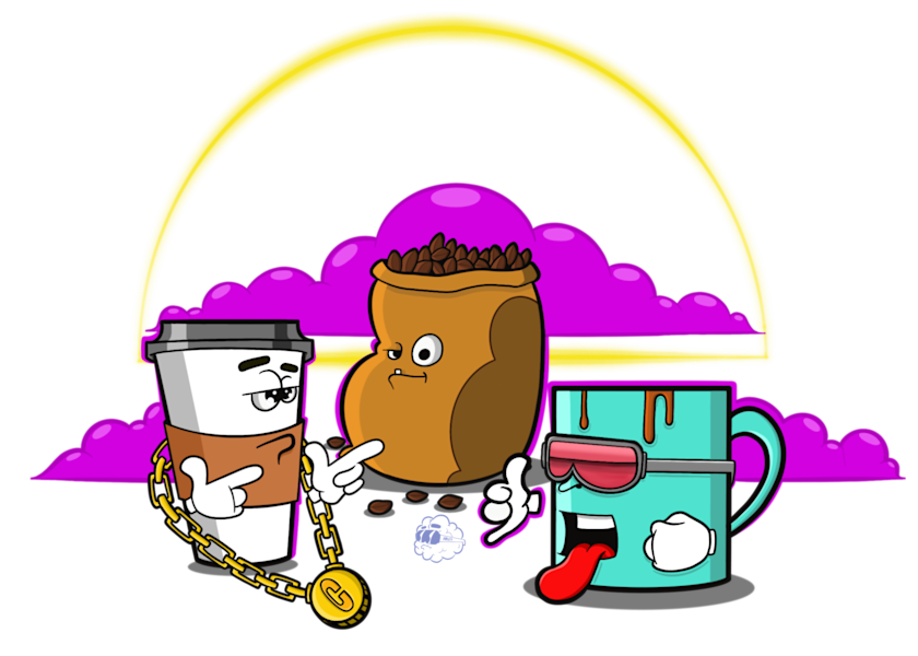 Morning Brew Art | Art by Nabes