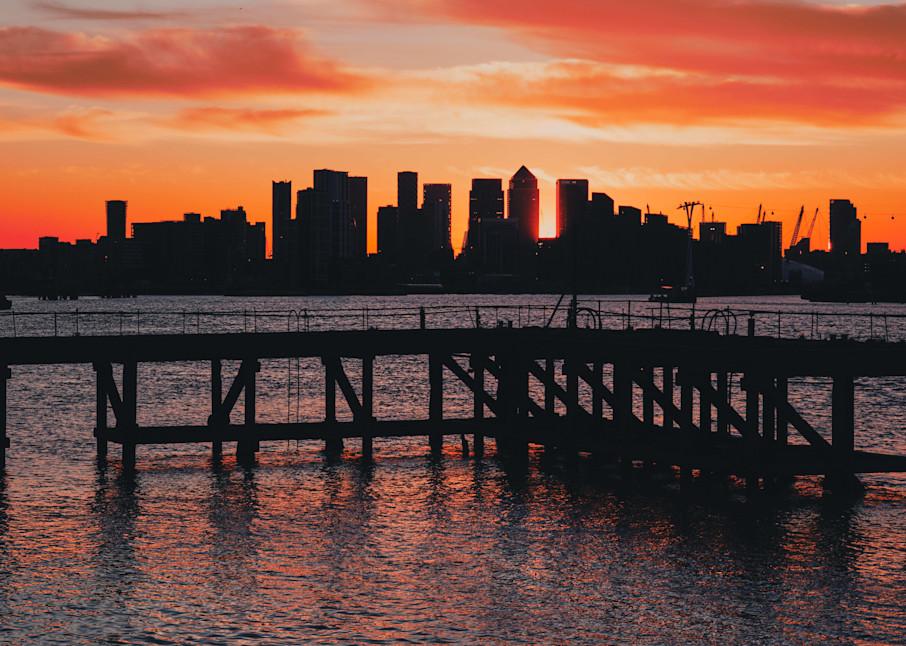 Skyscraper Sunset Art | Martin Geddes Photography