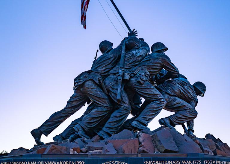 Marine Corp War Memorial 2 2 Photography Art | Charles Schmidt Photography, LLC