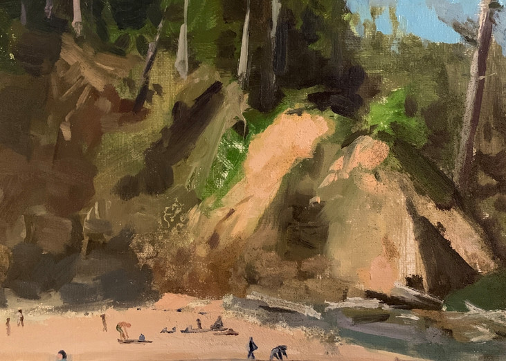 Ecola State Beach Art | Scott Dyer Fine Art