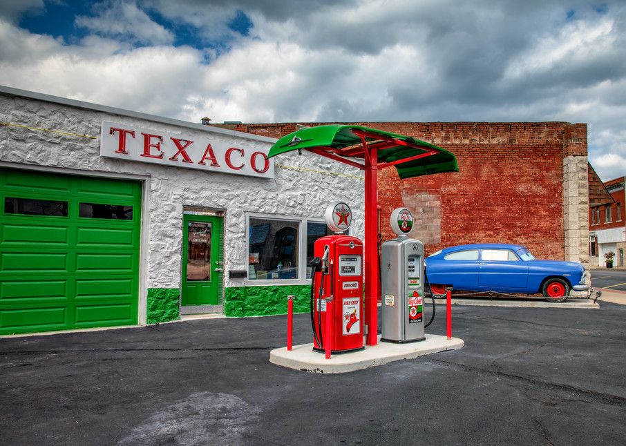 Mother Road Texaco — Route 66 fine-art photography prints