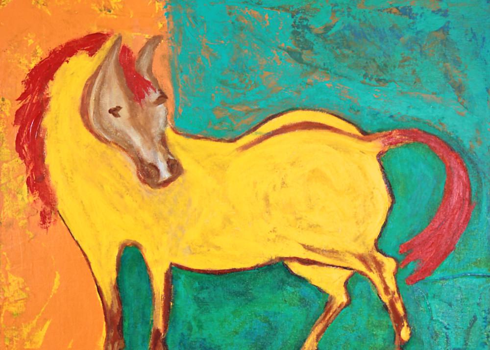 Pony Mare Art   Pam White Art