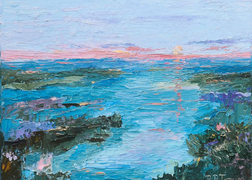 The Marsh At Sunset Art   Pamela Ramey Tatum Fine Art