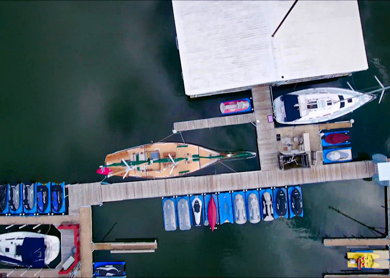 Birds Eye Of Boats6 Photography Art | Drone Video TX