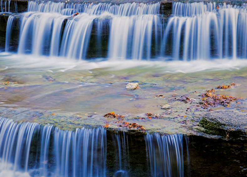 Waterfalls at Airfield Water Conservation Park - 4