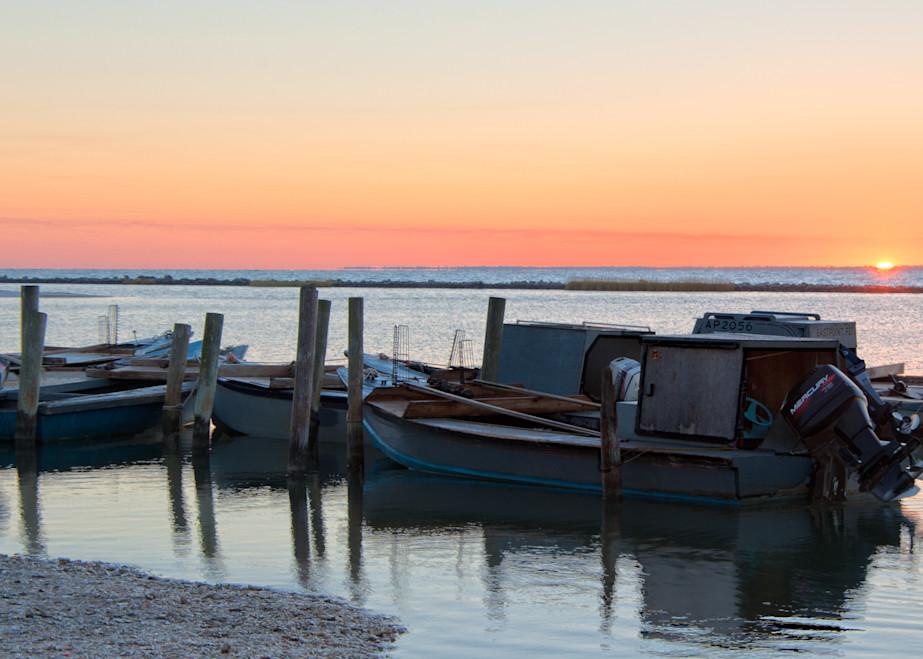 Oyster Boat Sunrise