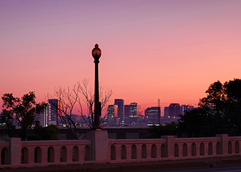 Dallas Skyline At Dawn 2 Photography Art   Drone Video TX