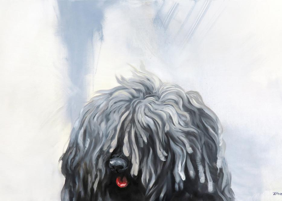 Another Shaggy Dog Story Art | Van Isle Dog Art