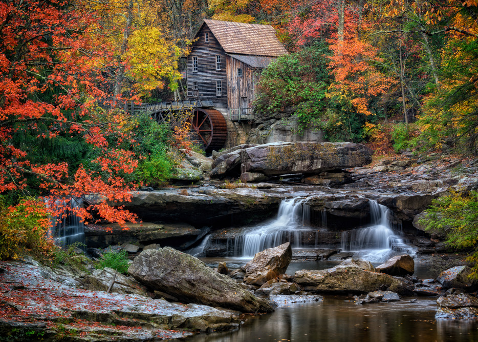 Autumn at Glade Creek | Shop Photography by Rick Berk