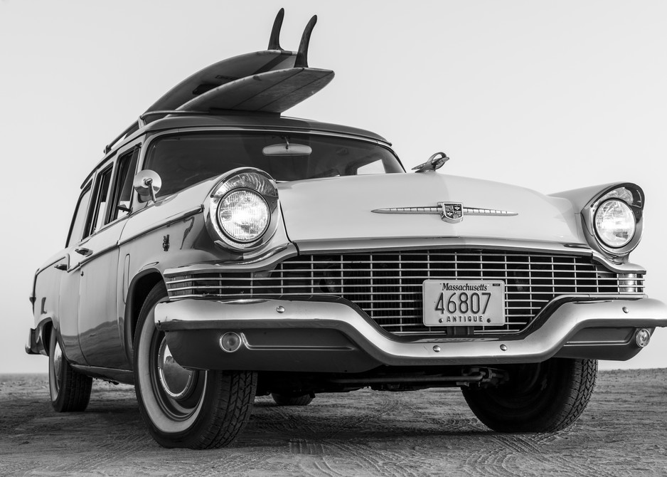 1964 Studebaker & Vintage Surfboards #4 Photography Art | Kit Noble Photography