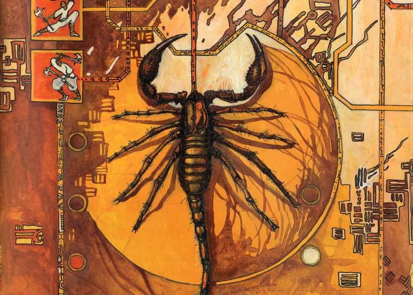 Scorpion Art | artemart