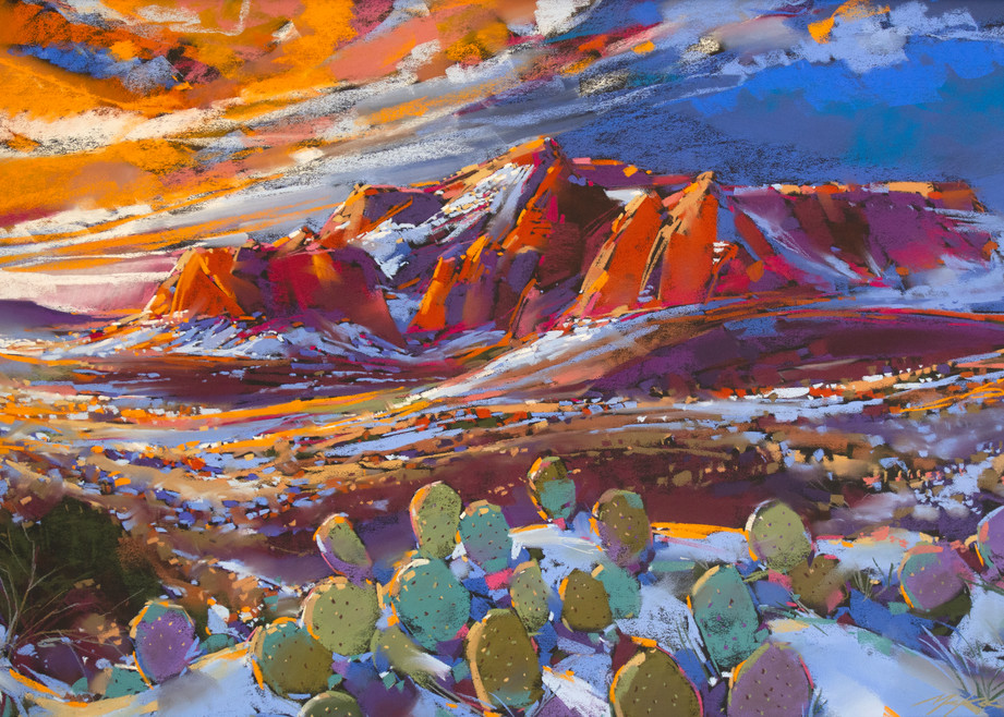 Sedona Snow Art | Michael Mckee Gallery Inc.