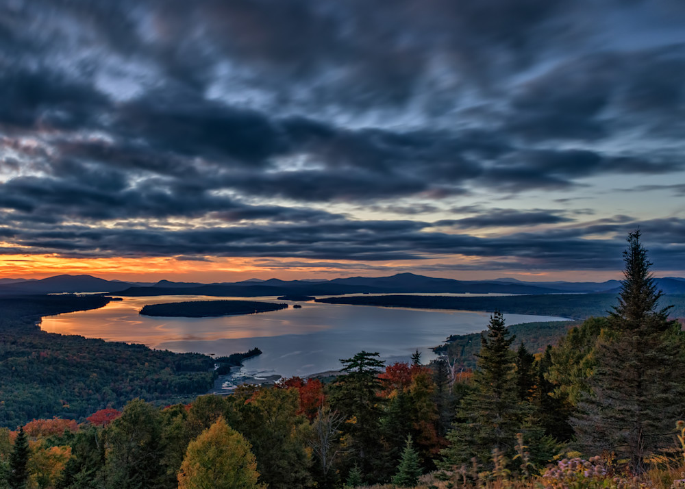 Dusk at Height of Land | Shop Photography by Rick Berk