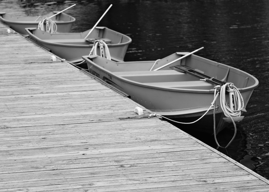 Three Boats II by Jeremy Simonson