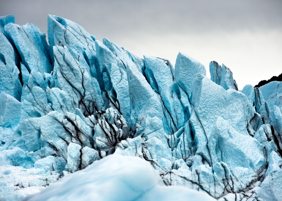 Glacier Face Matanuska Photography Art | Eric Hatch