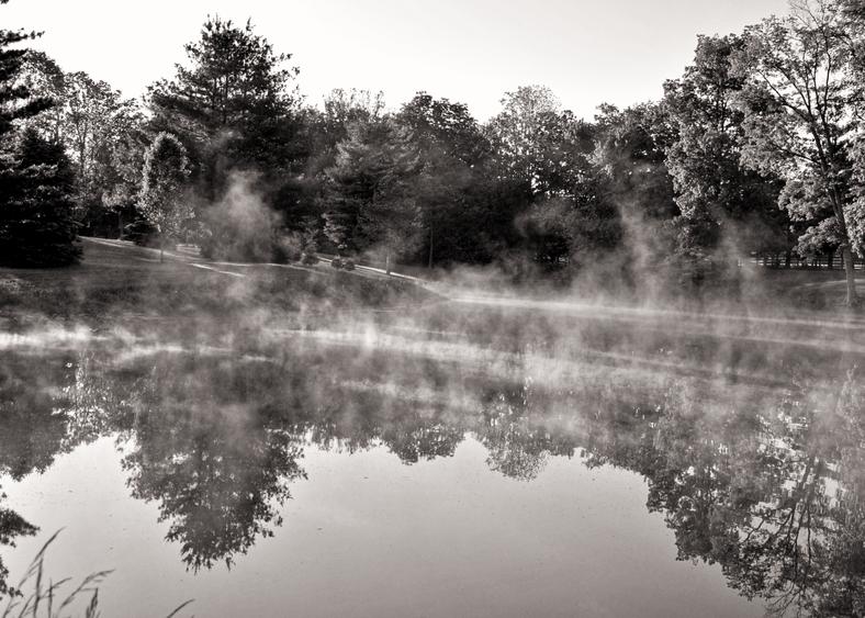 September Morning Pond Photography Art | Eric Hatch