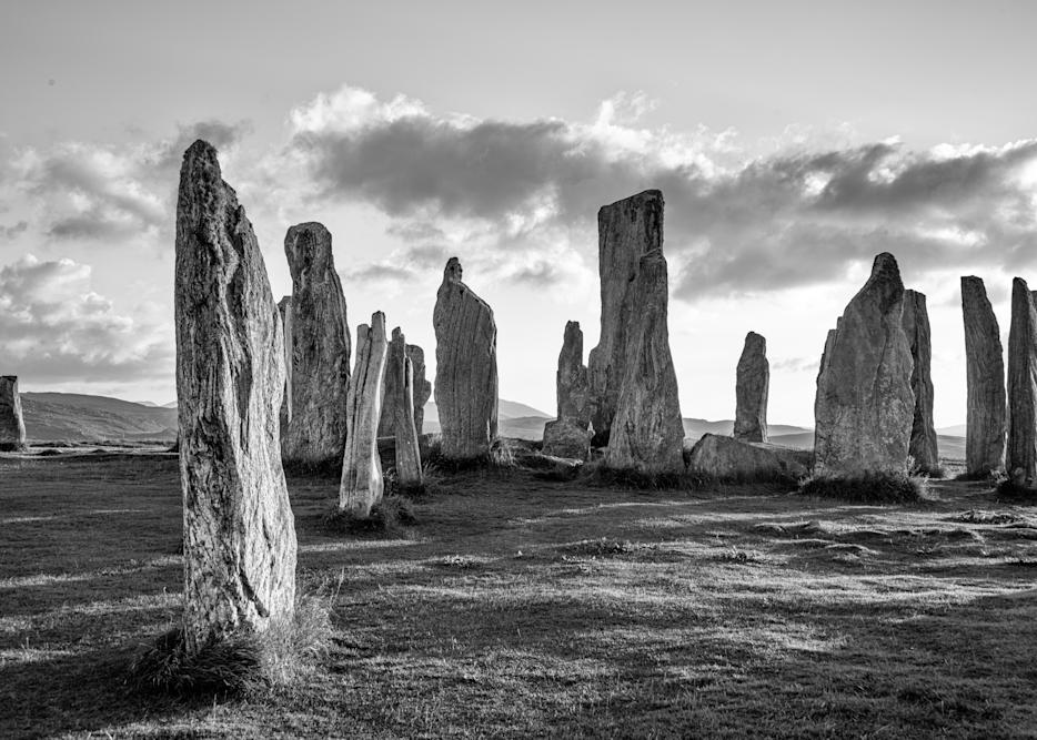 Stone Circle, Outer Hebrides, Scotland Photography Art | Eric Hatch