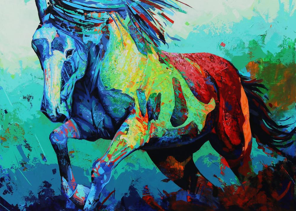 John the Horse, Marnier Art, Wildlife, Prints
