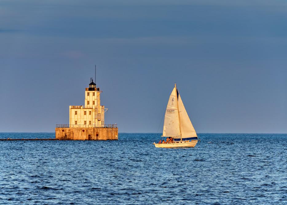 Milwaukee Breakwater Lighthouse   Shop Photography by Rick Berk