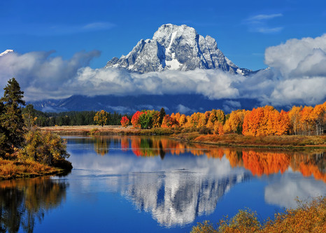 Oxbow Bend Panorama Photography Art | Ken Smith Gallery