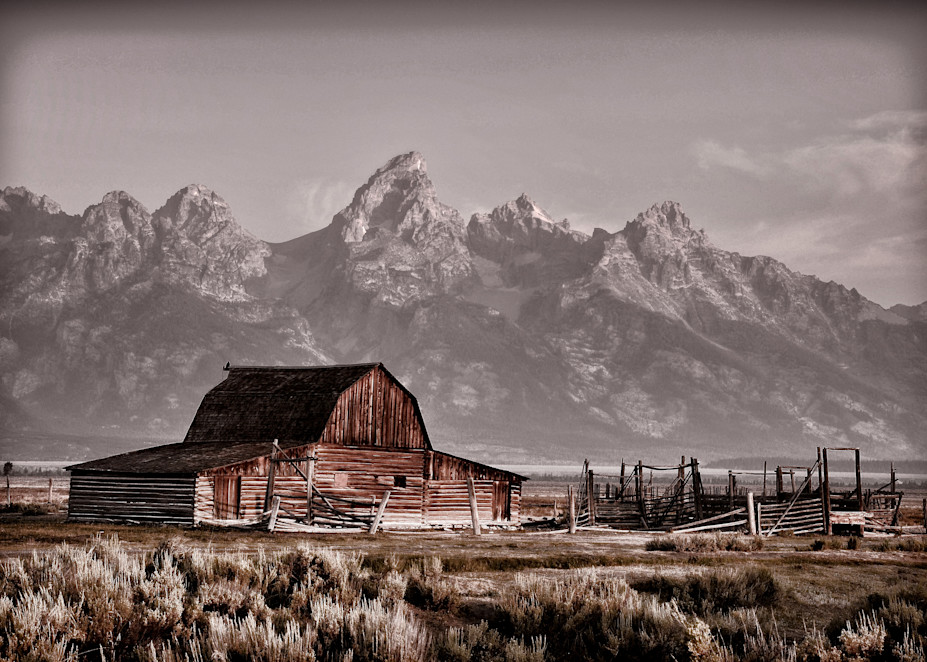 John  Moulton Barn Photography Art | Ken Smith Gallery